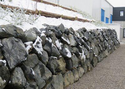 Natursteintreppe