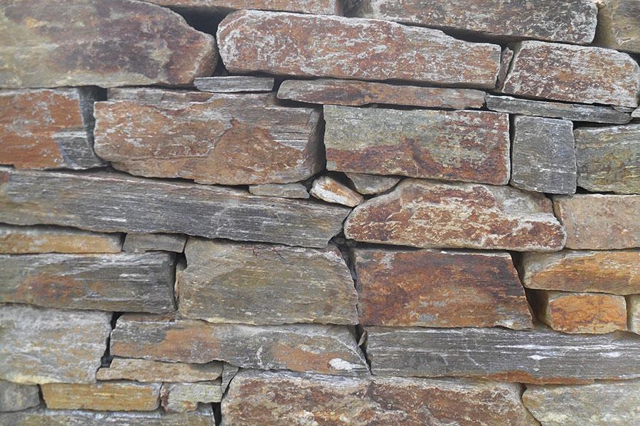 Natursteinmauer bei Garten Hartmann