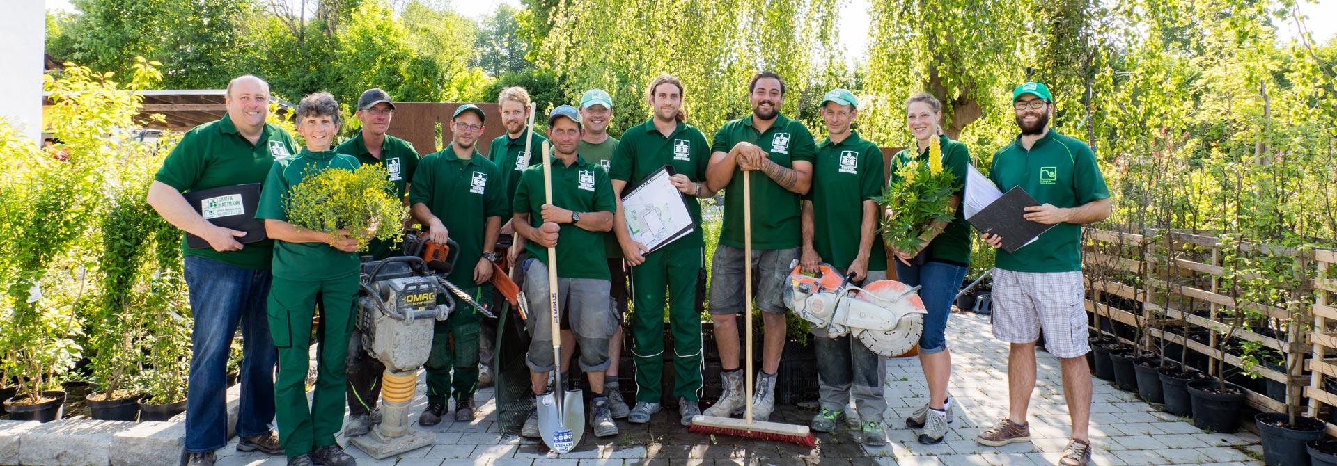 Team von Garten Hartmann in Obergünzburg